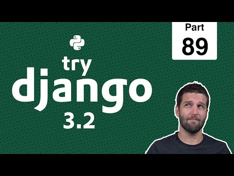 89 - Calculate Meal Queue Ingredient Totals - Python & Django 3.2 Tutorial Series thumbnail