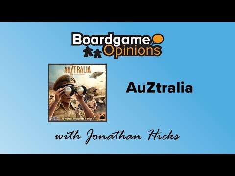 Boardgame Opinions: AuZtralia