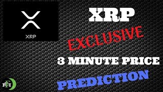 XRP Ripple Coin 3-Min Price Prediction - (October 9, 2018)