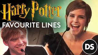 Harry Potter cast and producers remember their favourite lines