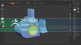 ZBrush ZModeler Polygon Actions - Poly Inset - Самые лучшие