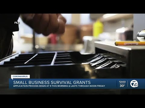 Application process begins for small business survival grants