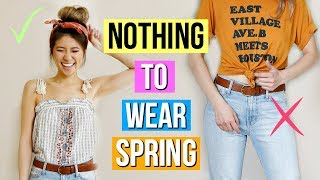 12 Spring Outfit Ideas! What to Wear When You Have Nothing to Wear EP 2!
