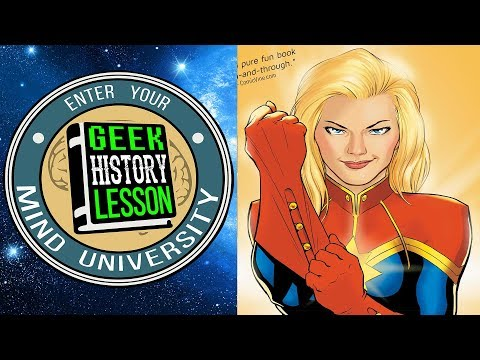 Captain Marvel: Higher, Further, Faster, More (Book Club) with Victoria Male - Geek History Lesson