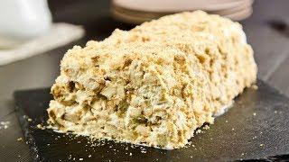 Торт из 3 ингредиентов лучше Наполеона БЕЗ ВЫПЕЧКИ! Просто и очень вкусно!!!
