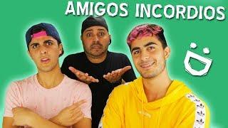 AMIGOS INCORDIOS - Alex Diaz ft. Jose Villa & Guillermo Villa