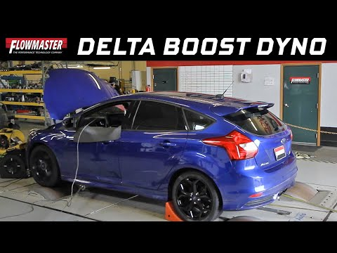 Flowmaster Delta Boost Performance Tuners - 2013 Ford Focus ST w/ 2.0L EcoBoost - Dyno Test