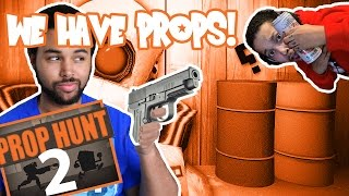 Gmod Prop Hunt Funny Moments: The Toilet Roll Spot, Delirious's Spe