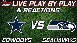 Dallas Cowboys vs Seattle Seahawks | Live Play-By-Play & Reactions | Kholo.pk