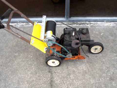 Build A Generator Out Of A Lawn Edger And DC Motor