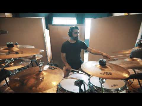 First Fragment - Le Serment de Tsion Drum Playthrough by Samuel Santiago online metal music video by FIRST FRAGMENT