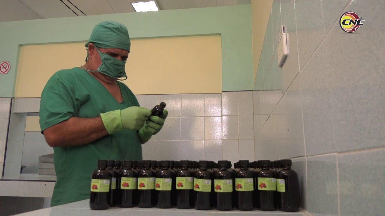 Se incrementa en Granma producción de medicamentos de medicina natural y tradicional