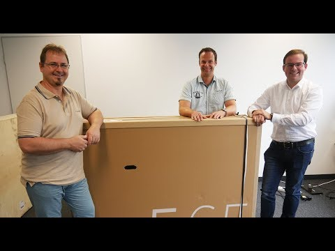Unboxing: Loewe Bild 5.65 OLED TV mit Dolby Vision
