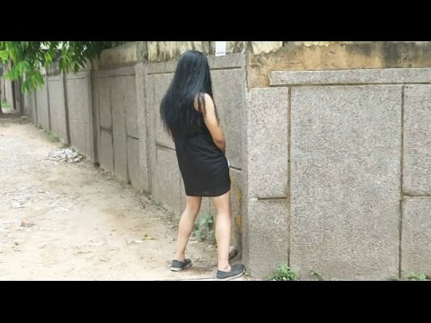 Hot Indian Girl Peeing in public place