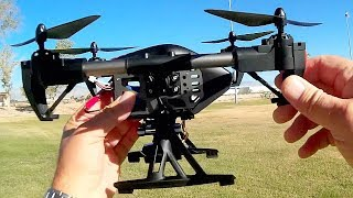 JDToys JD-11 Inspired FPV Camera Drone Flight Test Review