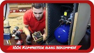 MX Helfer - Endlich Ruhe in der MX Werkstatt 100€ Kompressor leise bekommen!