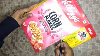 BEST WAY TO USE A CEREAL BOX !! Back To School Diy Book Holder