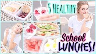 A Week Of Healthy Lunch Ideas For Back To School! | Aspyn Ovard