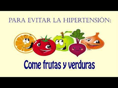 Tratamiento de la hipertensión dieta de alimentos crudos