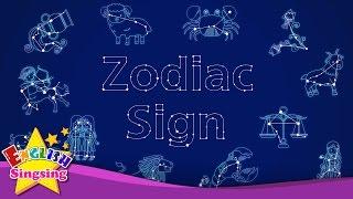 Kids từ vựng - Zodiac dấu - 12 dấu hiệu Zodiac