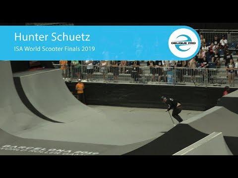 Hunter Schuetz - ISA Men's World Scooter Semi Finals 2019