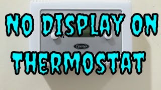 Thermostat Troubleshooting | HVAC Service Call | Carrier Unit Not Running