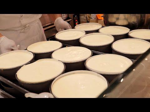 한국산 치즈 케이크 korean cheese cake / korean street food