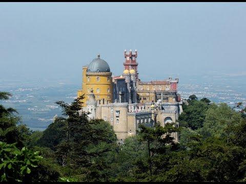 Дворец Пена, Синтра, Португалия! Самый красивый в Европе