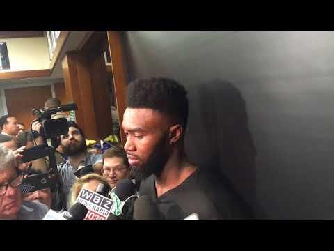 Jaylen Brown delivers emotional press conference after losing his best friend | Boston Celtics
