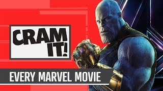 Every Marvel Movie Up To Infinity War - CRAM IT! (Avengers edition)