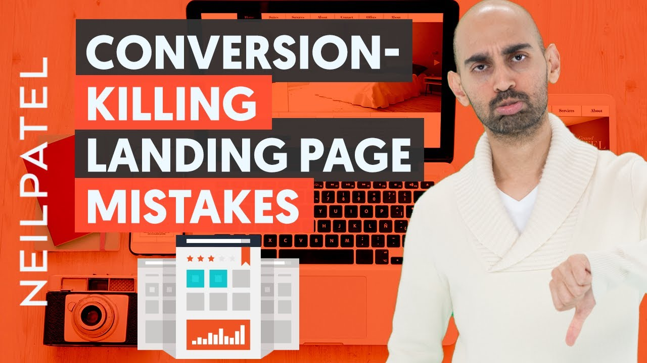 7 Landing Page Flaws That'll Kill Your Conversions