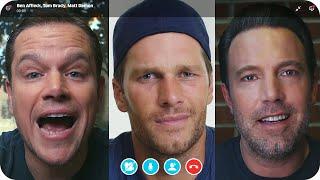 Matt Damon & Ben Affleck Fight Over Tom Brady's Friendship // Omaze