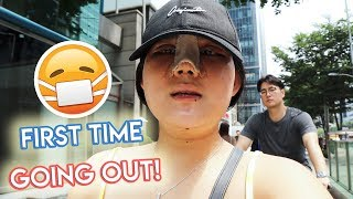 KOREANS JUDGED ME? FIRST TIME GOING OUT AFTER SURGERY!