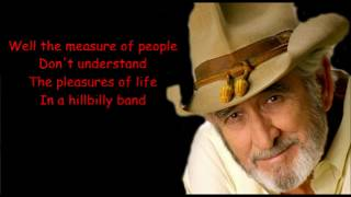 Amanda Don Williams with Lyrics.