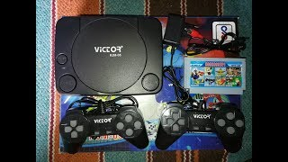 VICTOR KJM-05 TV VIDEO GAME {UNBOXING} & {SETUP}