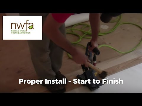 How To Properly Install Hardwood Flooring