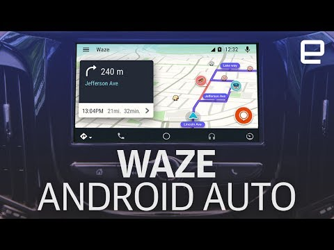 Waze for Android Auto | Hands-On