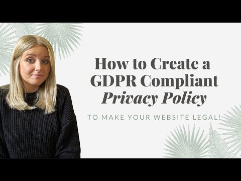 , title : 'Is your website legal? 😬 (How to create a compliant Privacy Policy!)