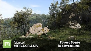 Create a Forest Scene in CRYENGINE