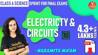 Electricity and Circuits | Class 6 Science Sprint for Final Exams | Chapter 12 | Vedantu