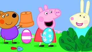 Peppa Pigs Easter Party! | Kids TV And Stories