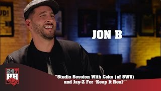 "Jon B - Studio Session With Coko of SWV and Jay Z For ""Keep It Real"" (247HH Exclusive)"