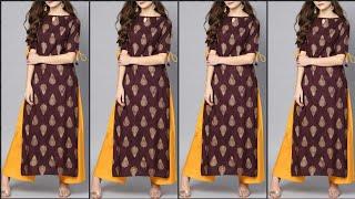 Daily Wear Kurti Designs || Beautiful Color Combinations For Summer Kurtis || Desi Fashion