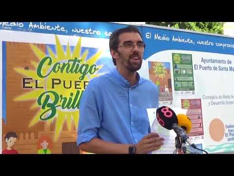 'Contigo, El Puerto brilla', campaña de concienciación y limpieza