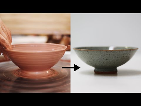 How to Make a Stoneware Pottery Bowl, from Beginning to End — Narrated Version
