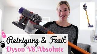 Dyson V8 Absolute - Reinigung und Langzeittest