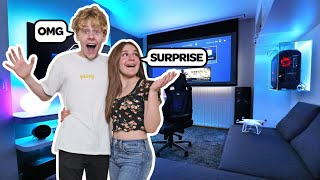 Surprising My BOYFRIEND With A $10,000 Dream Room Makeover Prank **EMOTIONAL** |Piper Rockelle