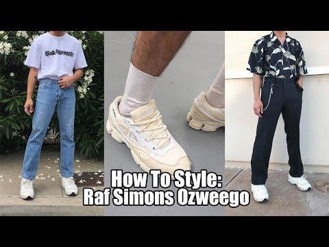HOW TO STYLE: RAF SIMONS OZWEEGO