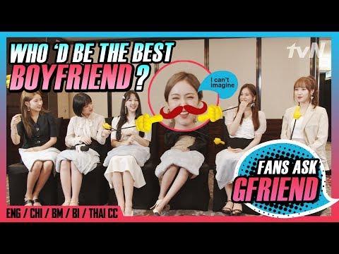 [#tvNDigital] (MULTI SUB) GFRIEND ♥ Which member would be the best boyfriend?   Fans Q&A