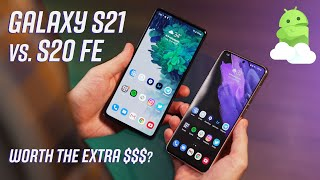 Samsung Galaxy S21 5G vs Samsung Galaxy S20 FE 5G: Worth buying in 2021?